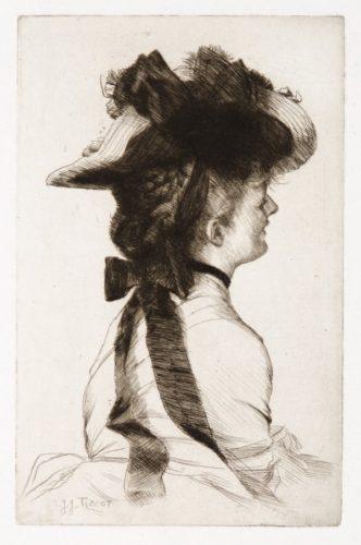 Le Chapeau Rubens by James Tissot