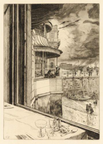 Trafalger Tavern, Greenwich by James Tissot
