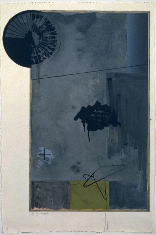 Evian by Jasper Johns
