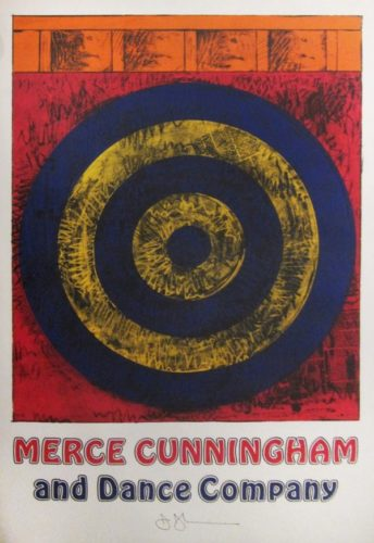 From The Merce Cunningham And Dance Company by Jasper Johns
