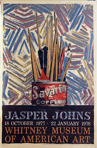 Savarin, Jasper Johns, 18 October 1977 To 22 January 1978 by Jasper Johns