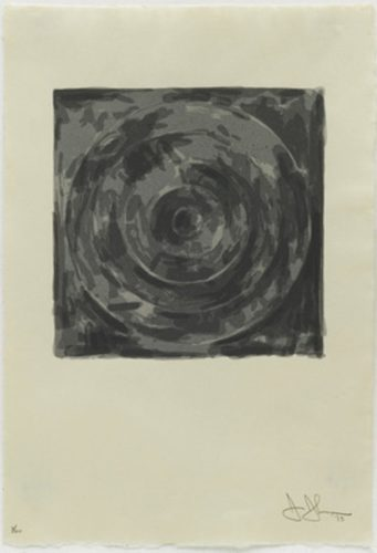 Target (from The Meyer Schapiro Portfolio) by Jasper Johns