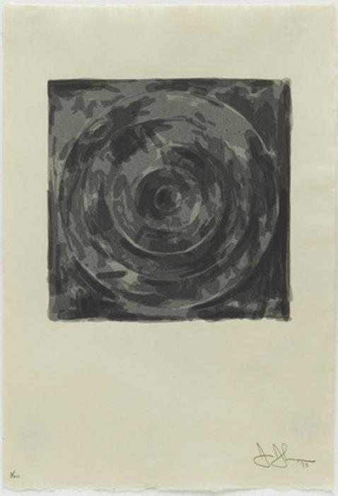 Target (from The Meyer Schapiro Portfolio) by Jasper Johns