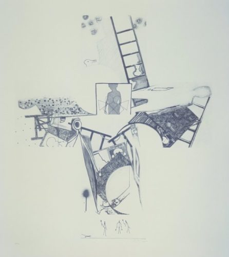 The Seasons by Jasper Johns at