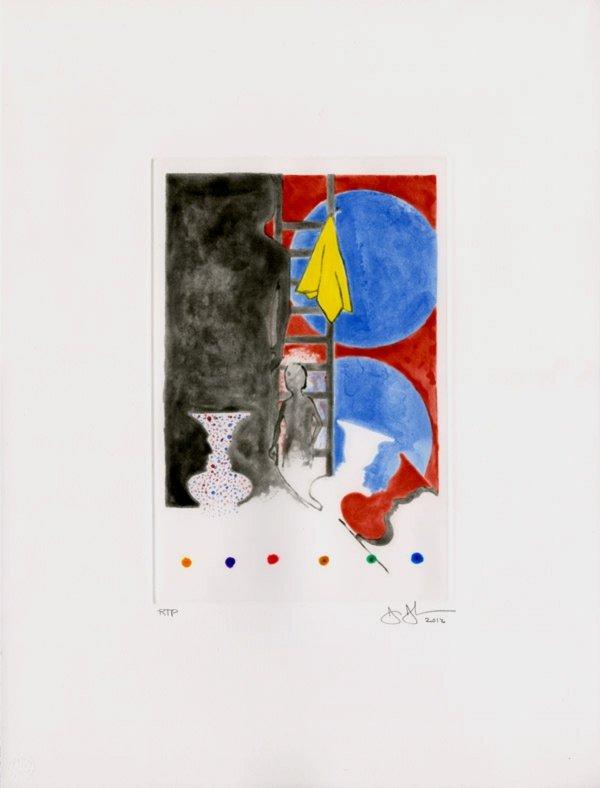 Untitled, 2012 by Jasper Johns