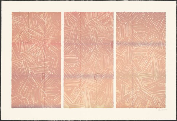 Usuyuki by Jasper Johns