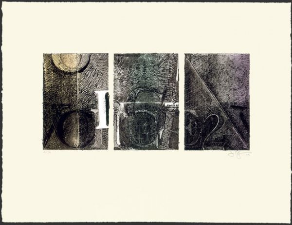 Voice 2 by Jasper Johns at