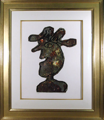 L'homme Au Chapeau by Jean Dubuffet at