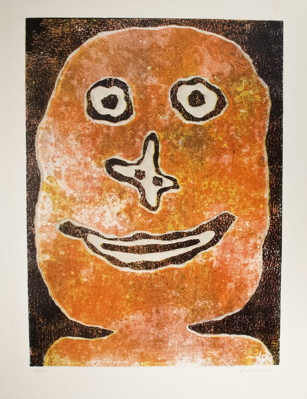Sourire by Jean Dubuffet