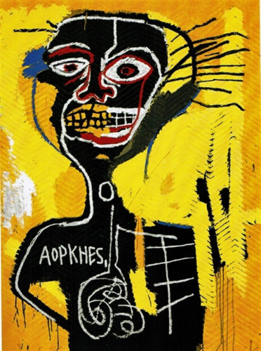 Cabeza by Jean-Michel Basquiat at