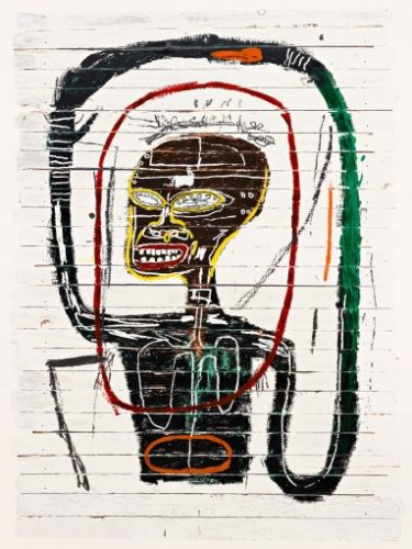 Flexible by Jean-Michel Basquiat at Jean-Michel Basquiat
