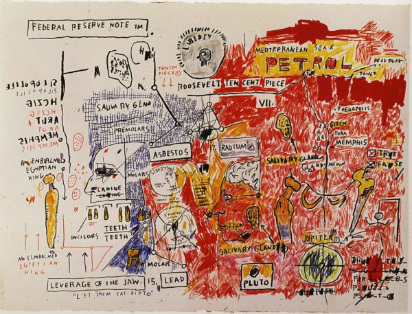 Liberty by Jean-Michel Basquiat at