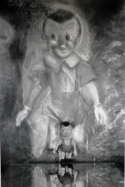 Boy In Mirror by Jim Dine