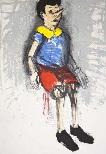 Fragile Boy by Jim Dine