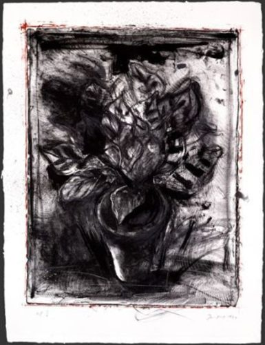 Jerusalem Plant #5 by Jim Dine