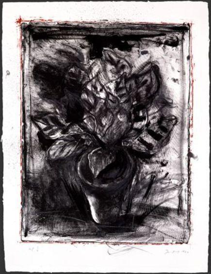 Jerusalem Plant #5 by Jim Dine