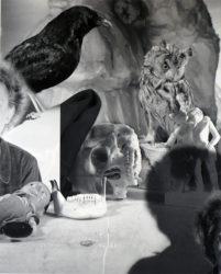 Nancy Looming by Jim Dine at
