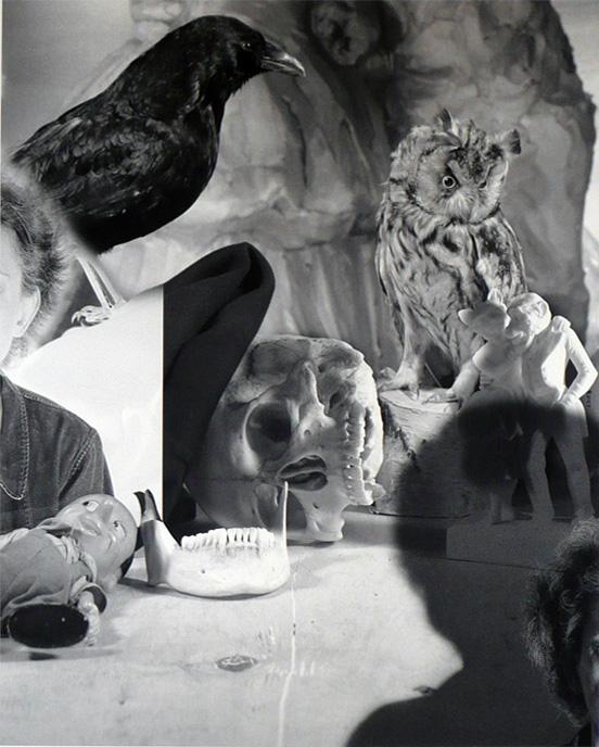 Nancy Looming by Jim Dine