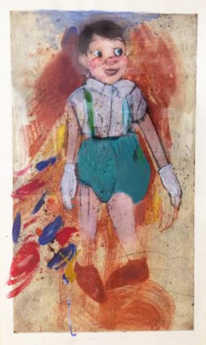 New Pinocchio No. 16 by Jim Dine
