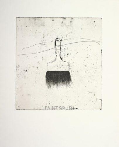 Paintbrush by Jim Dine