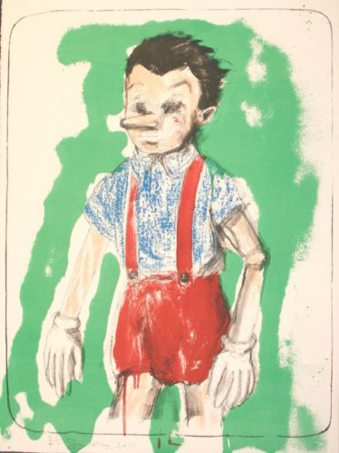 Pinocchio by Jim Dine at Jim Dine