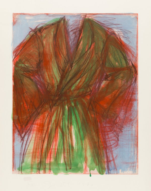 Printing Outdoors by Jim Dine