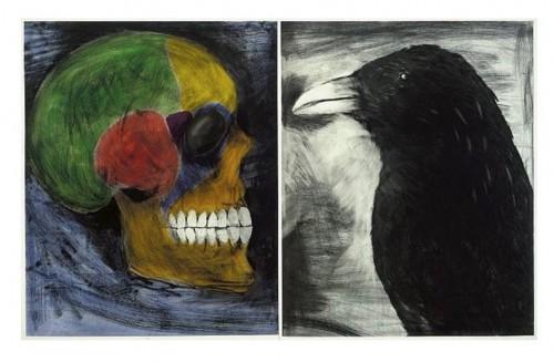 Technicolor Ii by Jim Dine