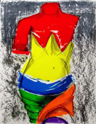 The Bather by Jim Dine at