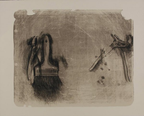 Tools For Creeley Iii by Jim Dine