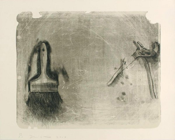 Tools For Creeley Ii by Jim Dine