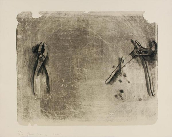 Tools For Creeley I by Jim Dine