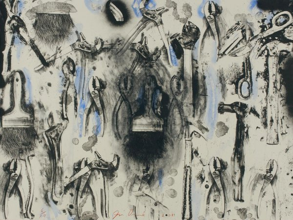 Tools In The Earth by Jim Dine