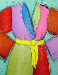 Yellow Belt by Jim Dine at