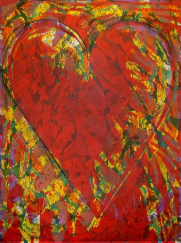 The New Building by Jim Dine