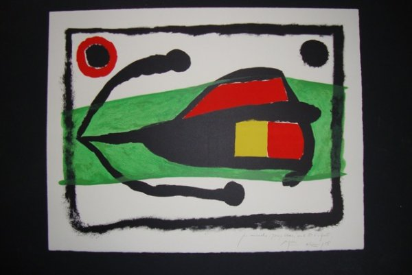Altamira by Joan Miro at