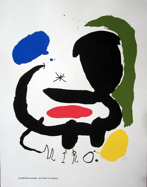 Art And Graphics by Joan Miro