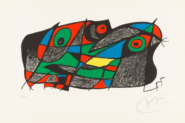 Fotoscop by Joan Miro
