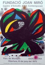 Fundació Joan Miró by Joan Miro at