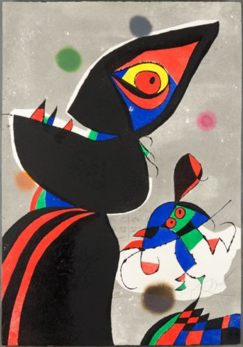 Gaudi Xvii by Joan Miro at