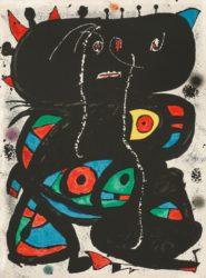 Hommage Aux Prix Nobel by Joan Miro at Grabados y Litografias.com