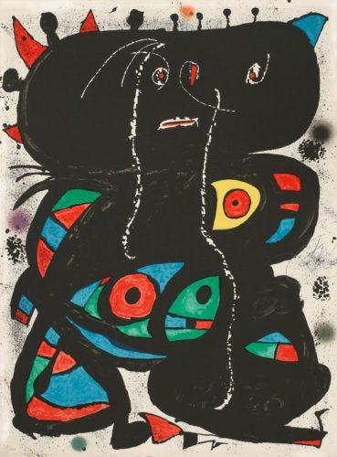 Hommage Aux Prix Nobel by Joan Miro
