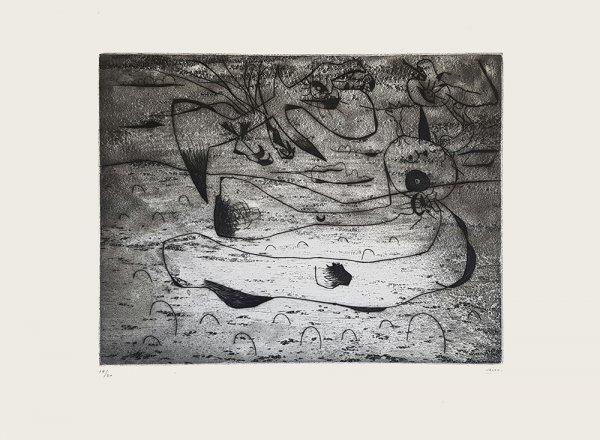 L'aigle Et La Femme La Nuit by Joan Miro