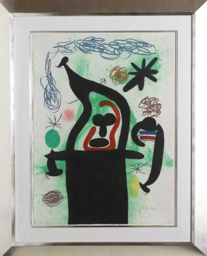 La Harpie by Joan Miro at Joan Miro