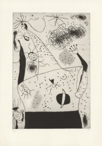 La geante by Joan Miro at
