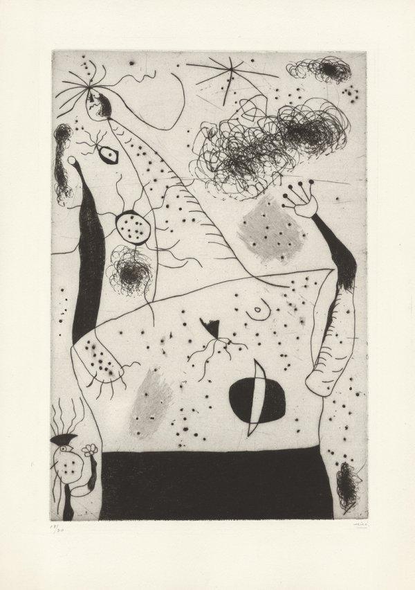 La geante by Joan Miro