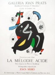 La Mélodie Acide by Joan Miro at