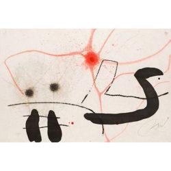 """le Marteau Sans Maître"" (d.967) by Joan Miro at Grabados y Litografias.com"