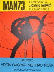 Man73 by Joan Miro at