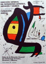 Miró Obra Gráfica by Joan Miro at