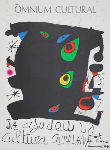 Omnium Cultural by Joan Miro at Sylvan Cole Gallery
